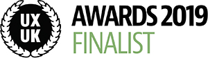 UXUK Awards Finalist